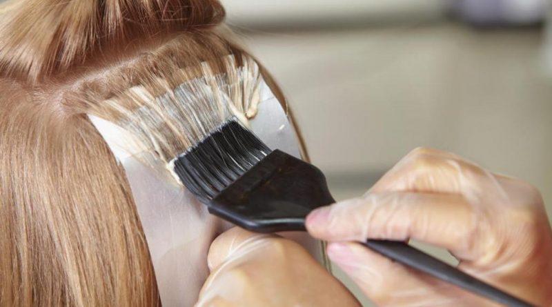Окрашивание волос у профессионалов