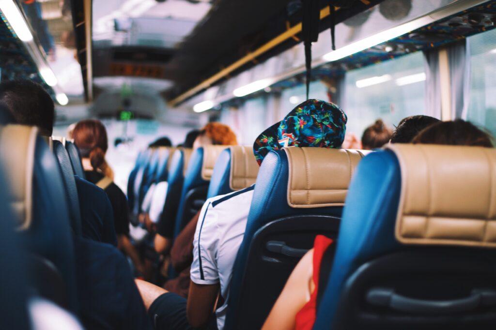 автобусное путешествие